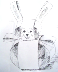Paper Strip Rabbit